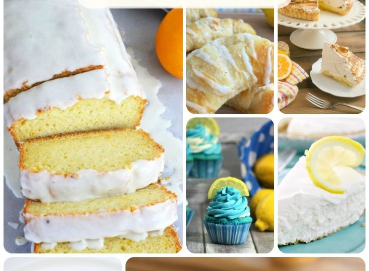 So many yummy lemon treats!
