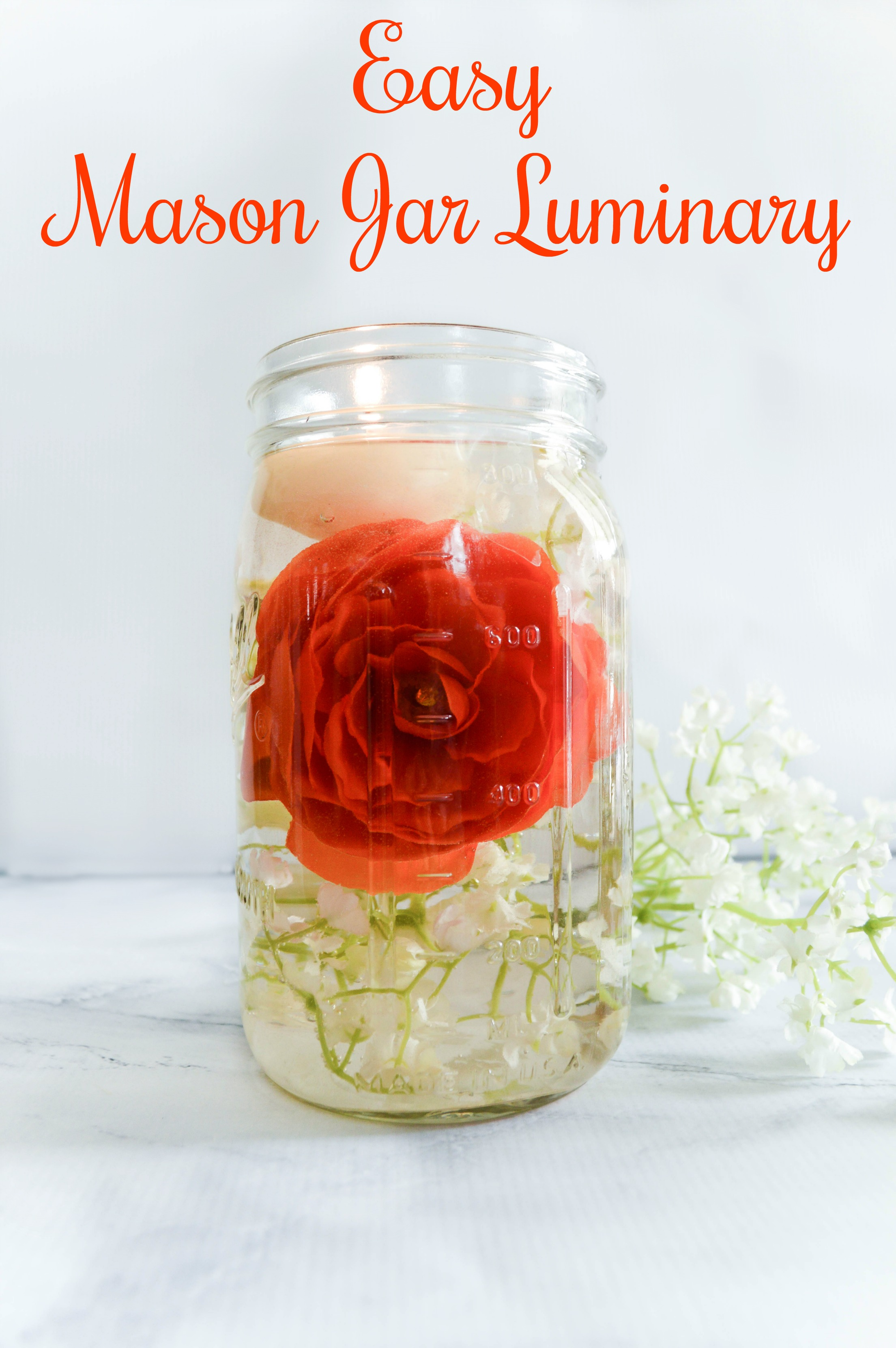 Bug Repellent Mason Jar Luminaries - My Uncommon Slice of Suburbia