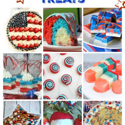 yummy treats for the fourth of July!