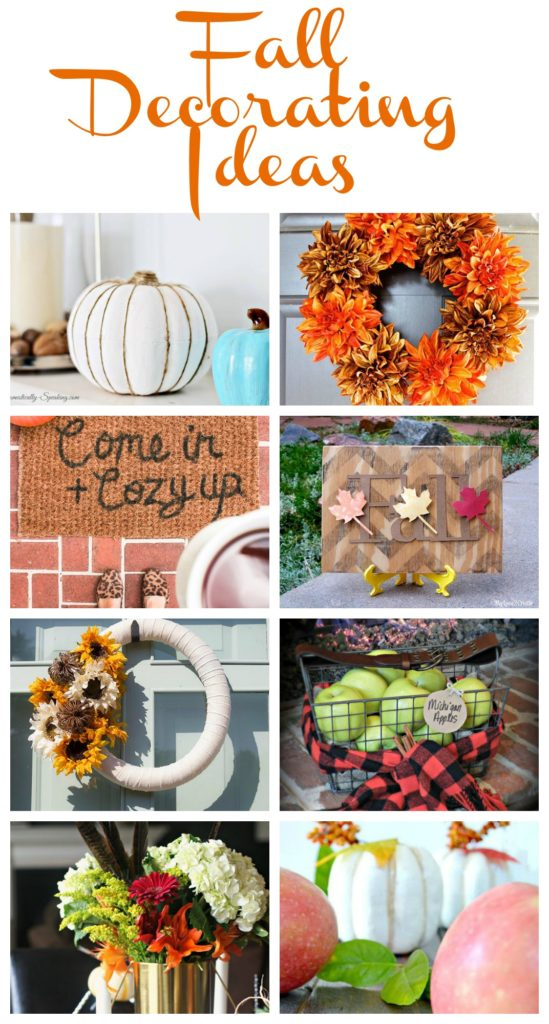 Fall Decorating Ideas, so many great DIY Projects that you can make at home!