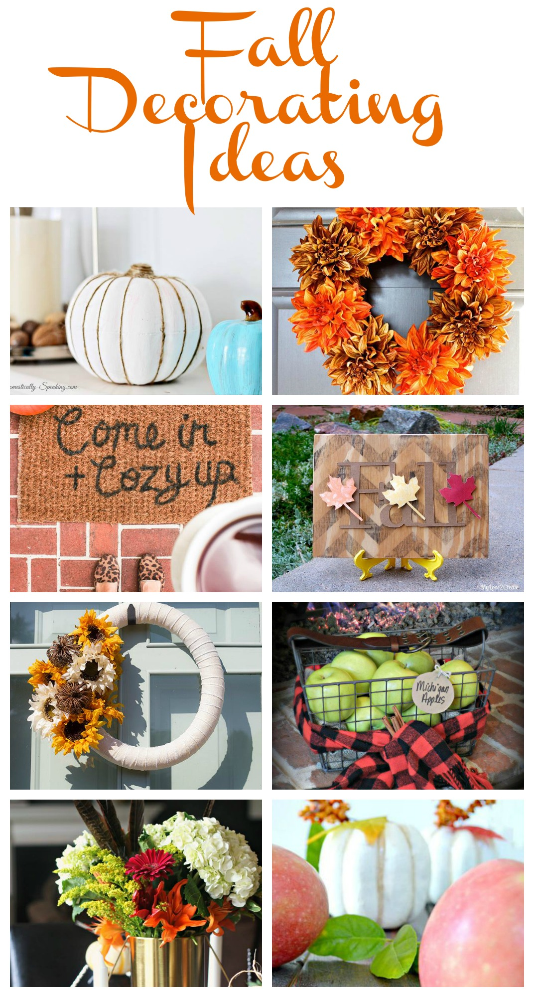 Fall Decorating Ideas - My Uncommon Slice of Suburbia