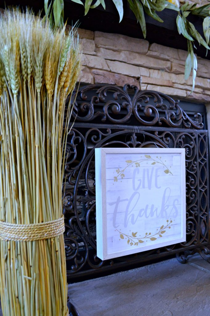 Rustic fall mantel and super Creative ways to decorate for fall using what nature brings us