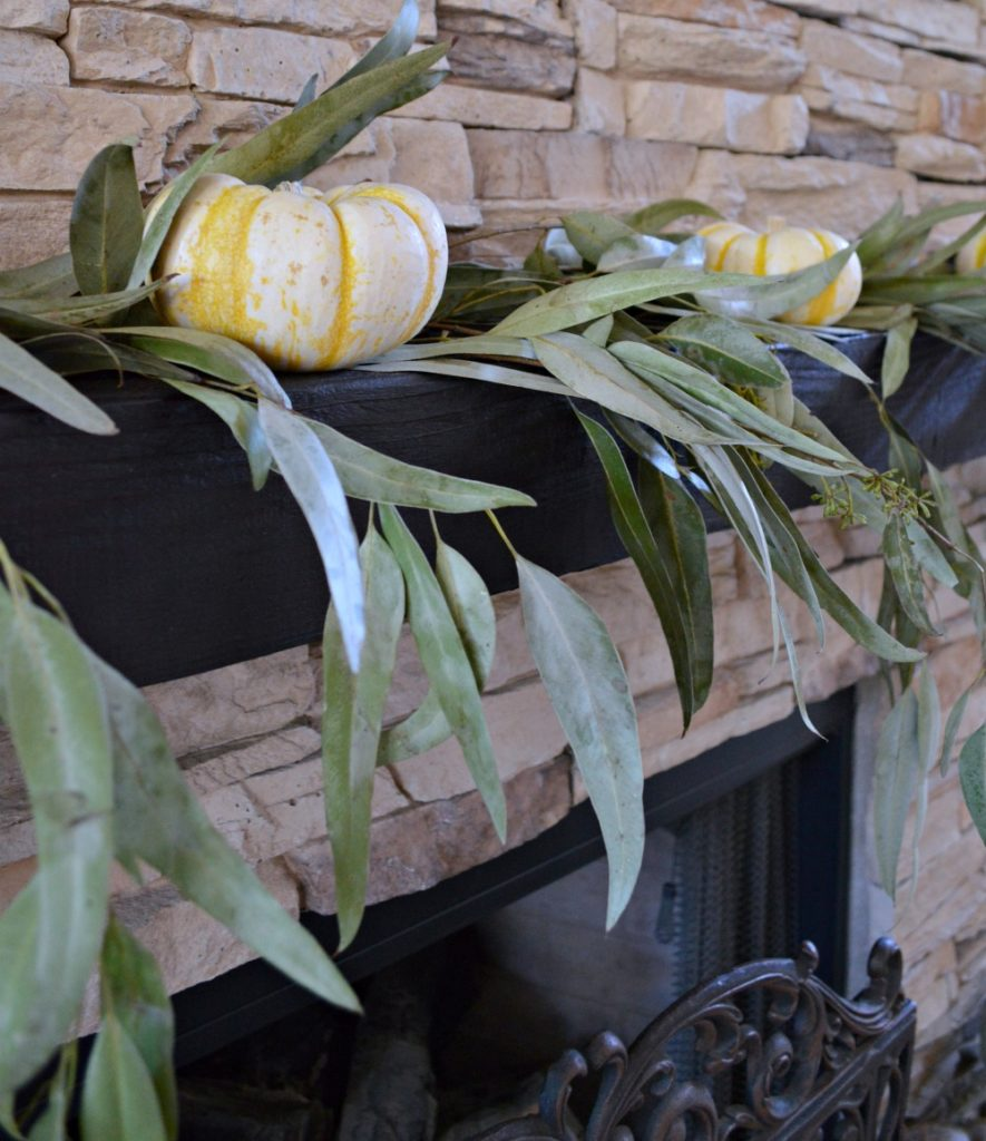 Creative ways to decorate for fall using what nature brings us