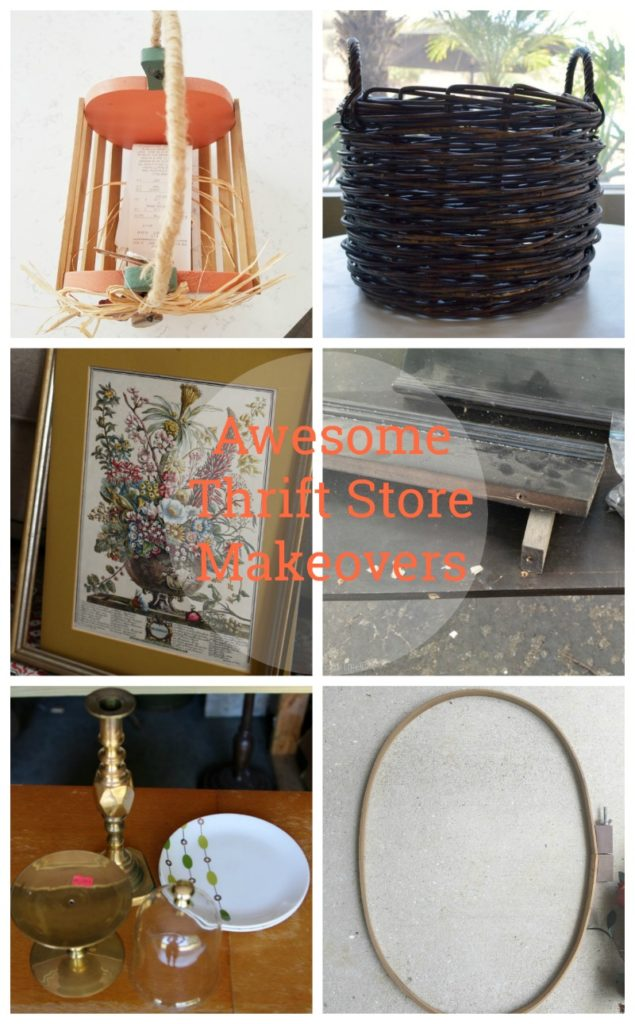 Come see all the fabulous makeover from thrift store finds