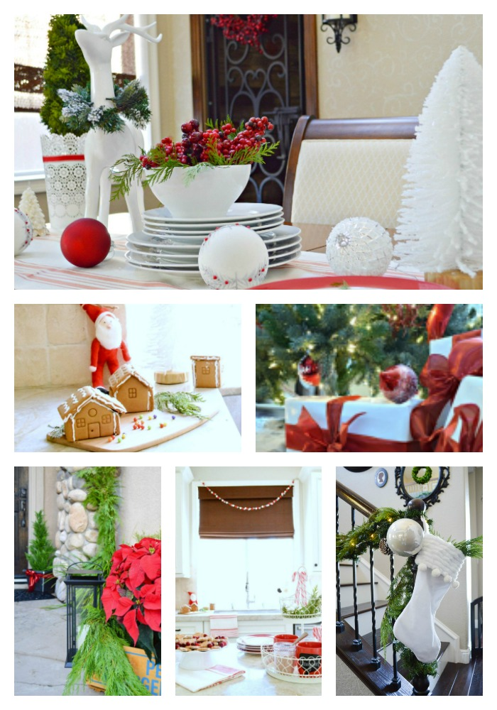 Fun and Festive Christmas home tour