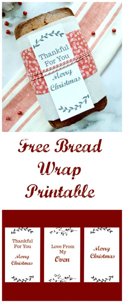 Wrap these around home made bread and give as gifts!