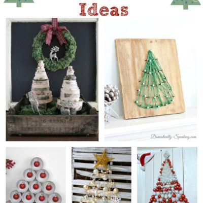 A collection of wonderful christmas tree ideas!
