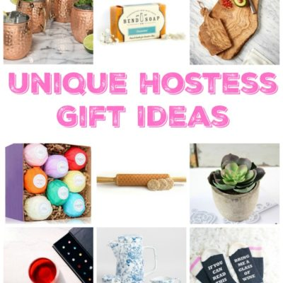 Create a impression and wow the host or hostess with these unique gift ideas!