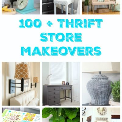 don't pass up those thrift store items, over 100 makeovers anyone can do!