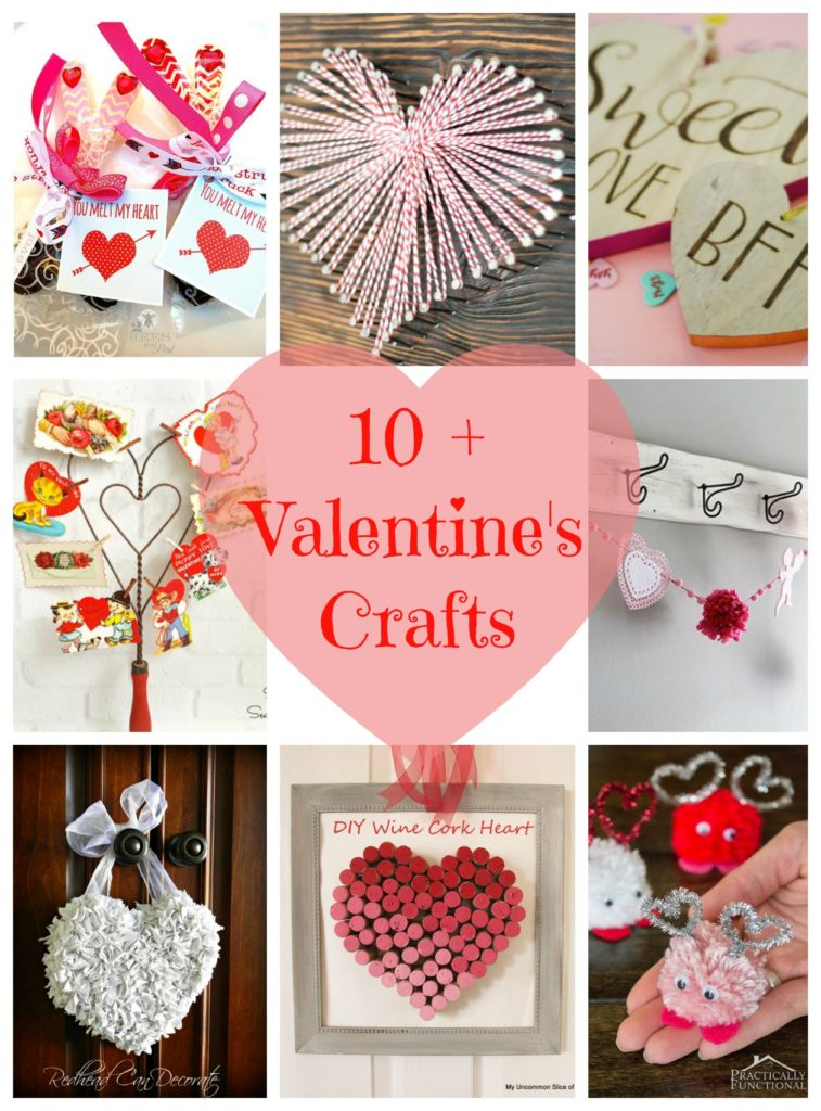 Plus Valentines Crafts  My Uncommon Slice Of Suburbia