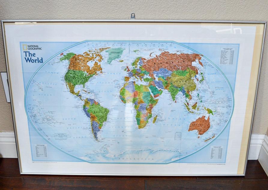 World Map Makeover