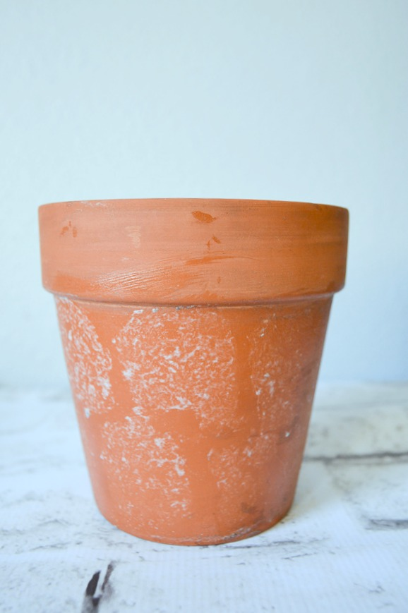Update those old Terracotta pots