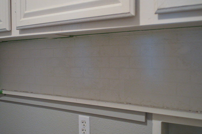 A great step by step tutorial with pictures on how to install subway tile
