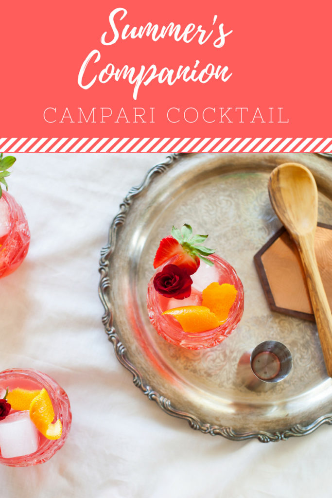 Campari Cocktail the perfect summer cocktail!