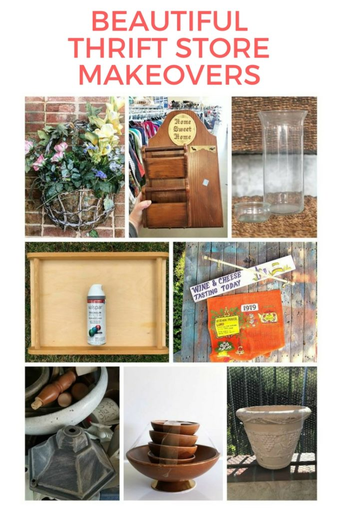 Come see all the thrift store makeovers, so many great ideas!