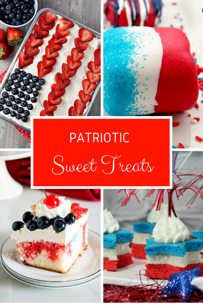Delicious treats you can serve for the fourth of July everyone will love!