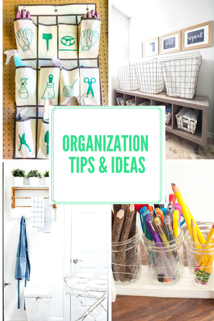 Great tips and Ideas to organize every room of the house