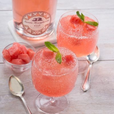 Delicious recipe for Froze watermelon Granita
