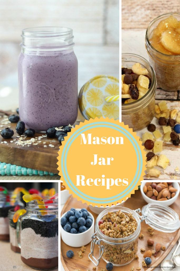 Delicious Recipes in a Mason Jar