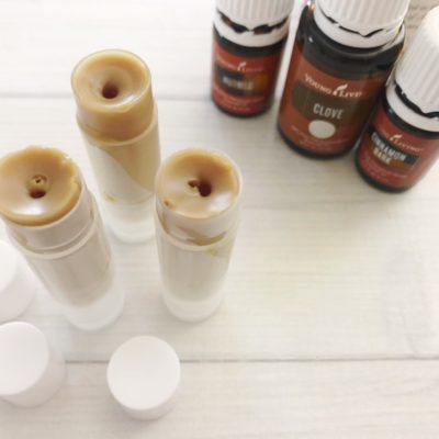 Learn how to make this DIY Toasted Pumpkin Chapstick