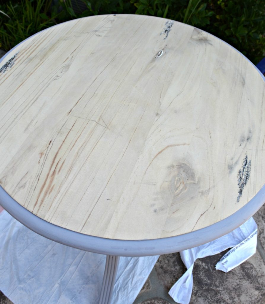 Table Makeover Using Weatherwood Stains