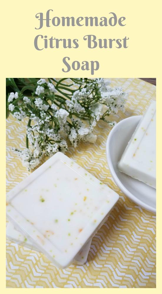 Citrus Burst Homemade Soap