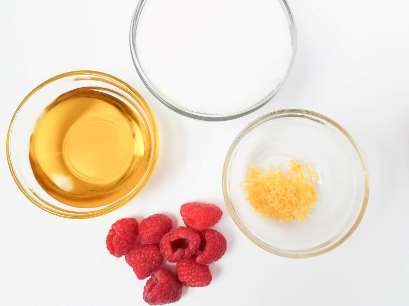 Homemade Lemon Raspberry Sugar Scrub is an easy DIY,It's all natural and smells wonderful!