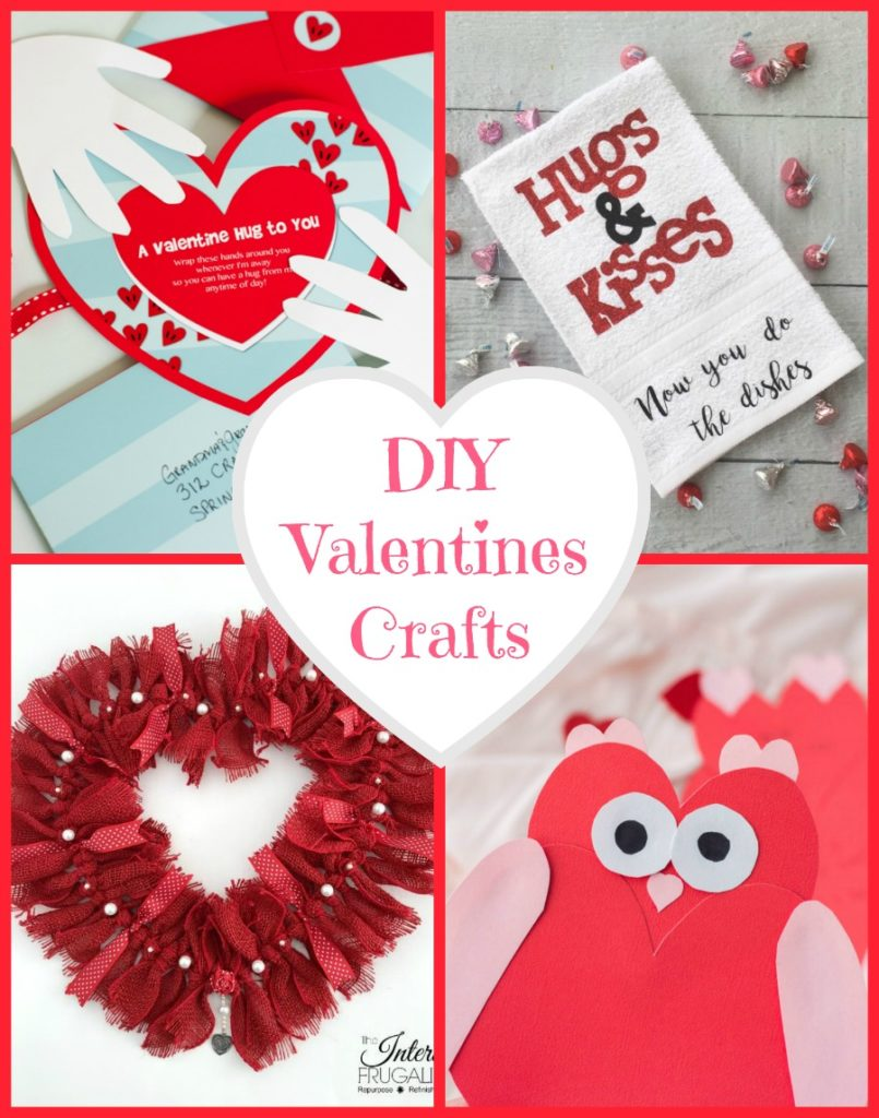 DIY Valentine Crafts for gifts and decor