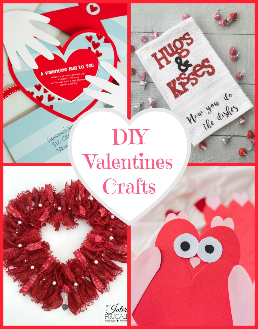 Diy Valentine Crafts At Inspire Me Monday 254 My Uncommon