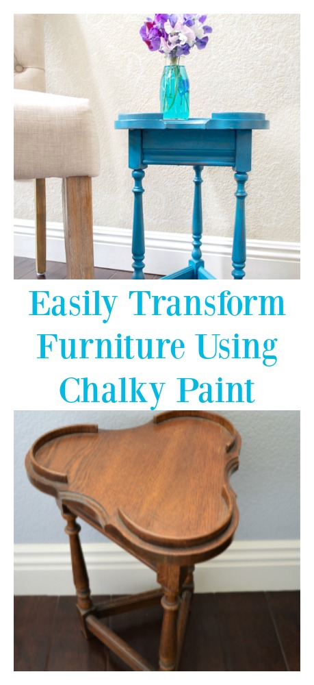 Take a dated piece of furniture and transform it using americana decor chalky paint