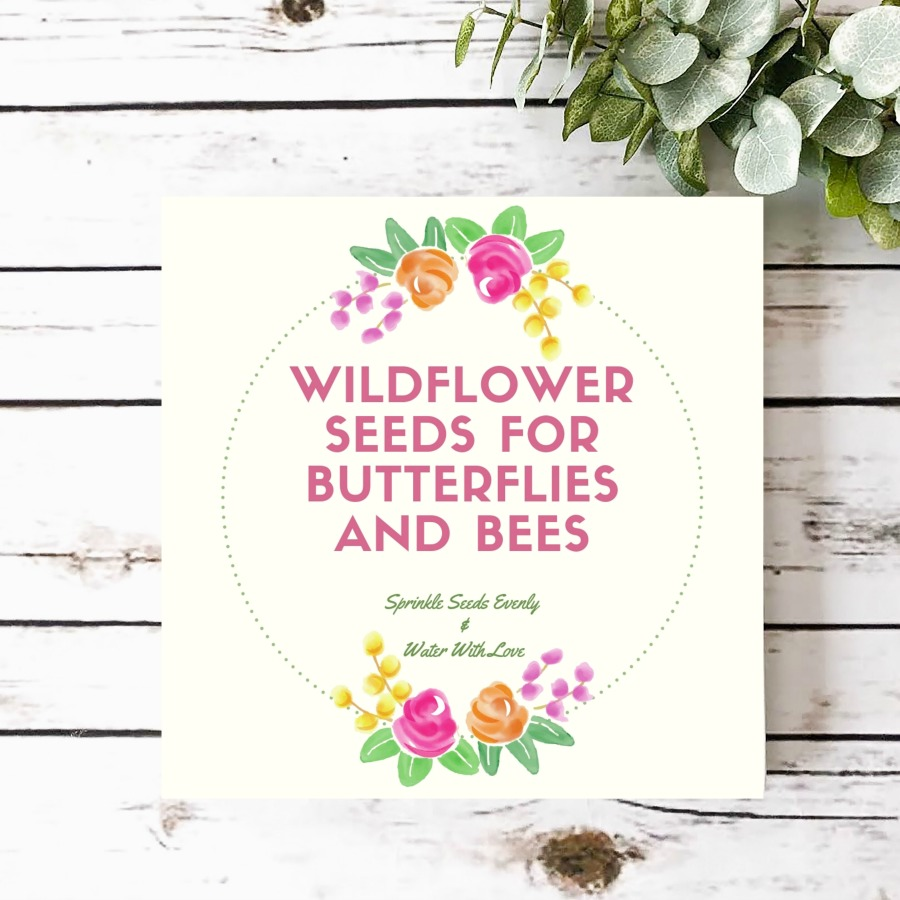 photo regarding Printable Seed Packets identify Free of charge Printable for Wildflower Seed Packets - My Unconventional