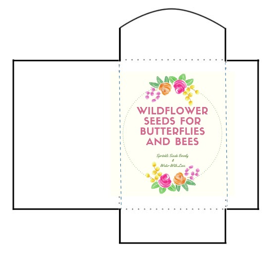 Free Printable For Wildflower Seed Packets My Uncommon