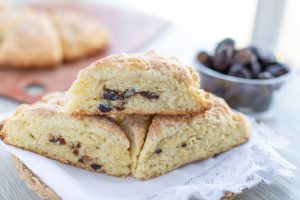 These fresh fig scones are amazing and well worth the wait for when figs are in season.