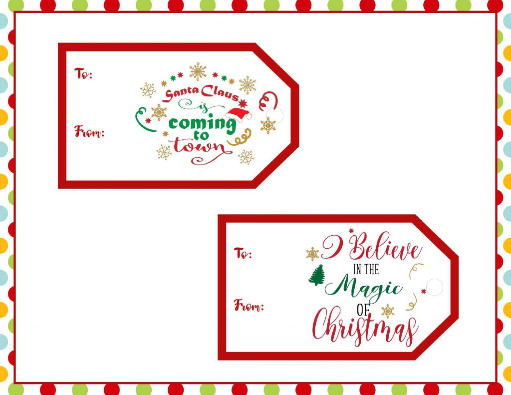 This is an image of Printable Christmas Gift Labels with regard to pinterest