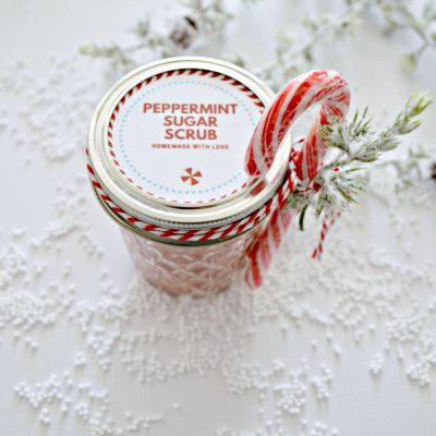 How to make peppermint sugar scrub