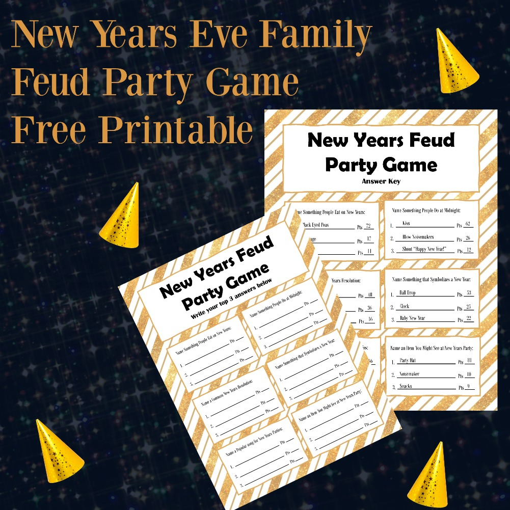 This is a photo of Family Feud Questions and Answers Printable in high definition